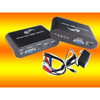 2 HDMI Input+ 1 VGA Input+ 1 Y/Pb/Pr+ Audio to VGA+ Audio Converter Adapter