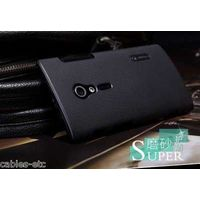 Nillkin Super Frosted Hard Back Cover Case For Sony Xperia Ion Lt28i - Black