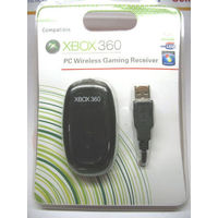 WINDOWS PC XBOX 360 WIRELESS CONTROLLER GAMING RECEIVER FOR MICROSOFT XBOX360