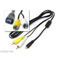 HY031 EG-CP14 AV Video OUT Cable for Nikon Coolpix Konica Minolta Panasonic Fuji