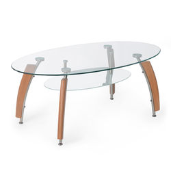 Drew Center Table,  clear