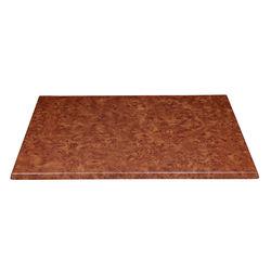 Dawat Rect Table Top,  cherry wood