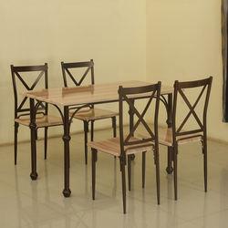 Arabia 1+ 4 Dining Set,  light beech