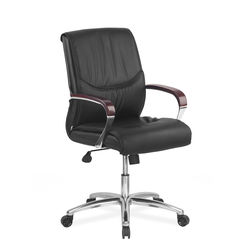 Admiral Mid Back Office Chair,  black