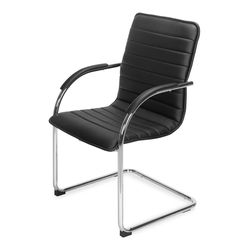 Runner Visitor Chair,  black