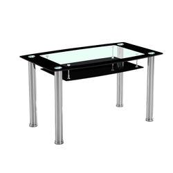 Jasmine 4Seater Dining Table,  black