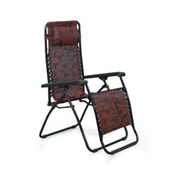 Frolic Easy Chair,  purple/red
