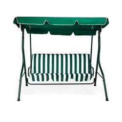 Leisure 3 Seater Swing,  green