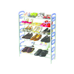 Redley Iron Shoe Rack - 6 Layer,  blue