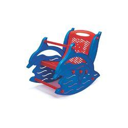 Toy Rocker,  pastel blue