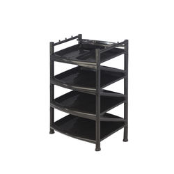 Shoe Rack 14,  black