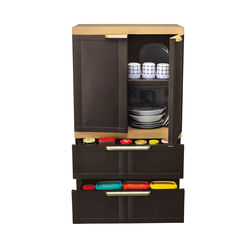 Freedom Mini Drawer 2B,  weather brown
