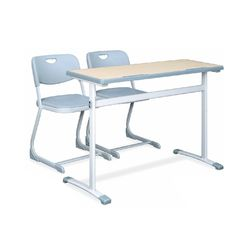 Ampere 11 Single Desk,  blue, 700mm