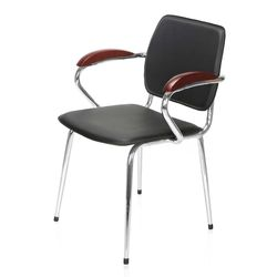 Nova Visitor Chair,  black