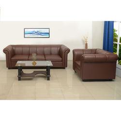 Fantasica Sofa 3S,  synthetic leather cocoa