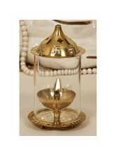Vertis Brass Diya Xtra Small Glass Dia 50mm (KTSAJXS50)