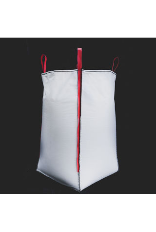 U Panel Bags, 90x90x200, 1000 kg, 5: 1, Top: Spout, Bottom: Flat