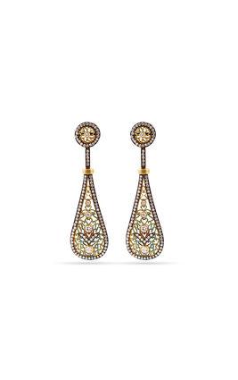 Ad golden earrings