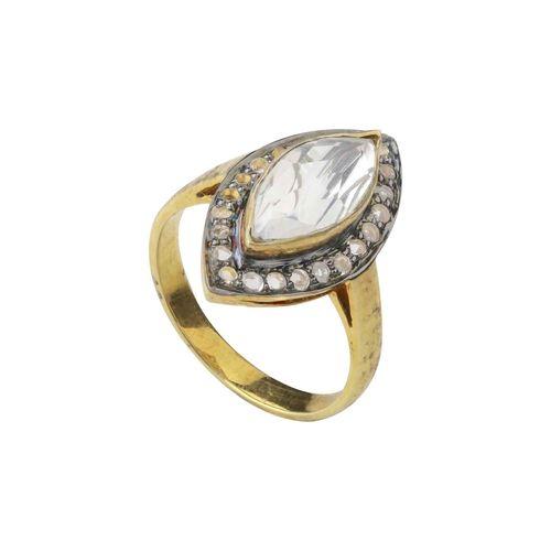 CZ DIAMOND RING
