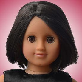 Taara Doll Package (Black and Pink Satin)