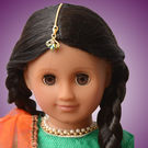 Mani Doll Package (Festive Green Lehenga)