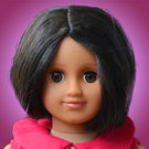 Taara Doll Package (Magenta Flower Dress)