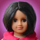 Taara Doll Package (Magenta Flower Dress)