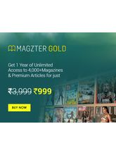 Magzter GOLD Magazines Digital Subscription, 1 year - share with 4 family members