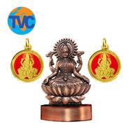 Shree Dhan Varsha Laxmi Yantra,  bronze