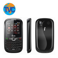 Dual SIM QWERTY Mobile Phone- ICON G8,  grey