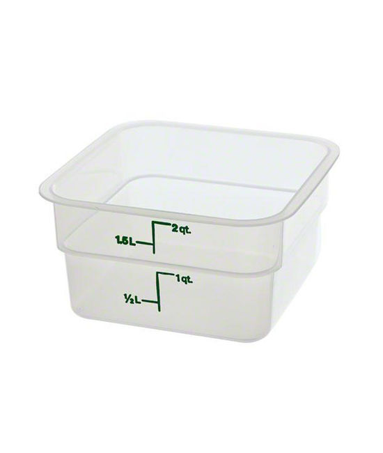 Food Container 1.9 Litre Translucent