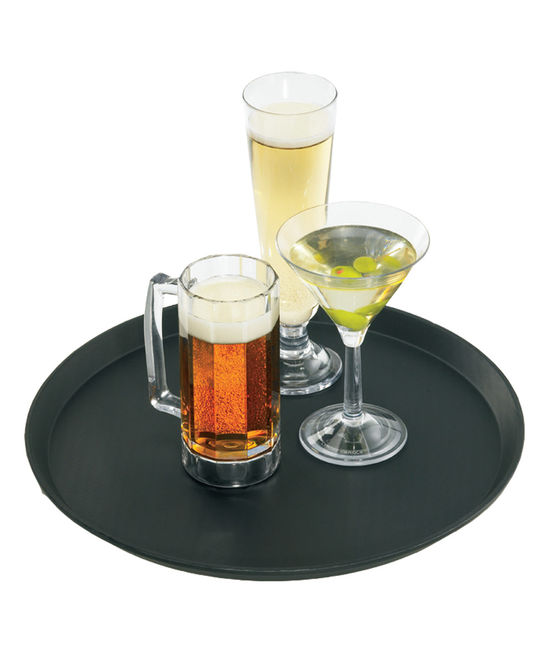 Non Skid Fiberglass Serving Tray (14 x 18) ''