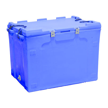 150 Litre Ice Box, 150, with 4 rubber locks & attached lid