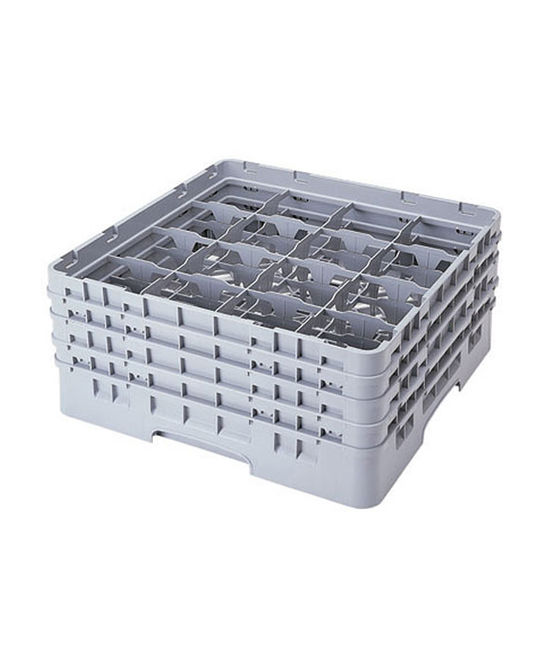 16 Compartment Washcrates with 4 Extender (8.5'')