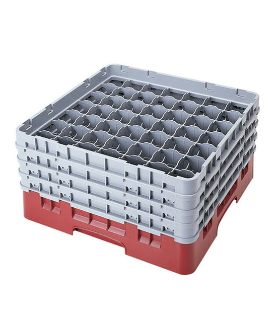 49 Compartment Washcrates with 4 Extender
