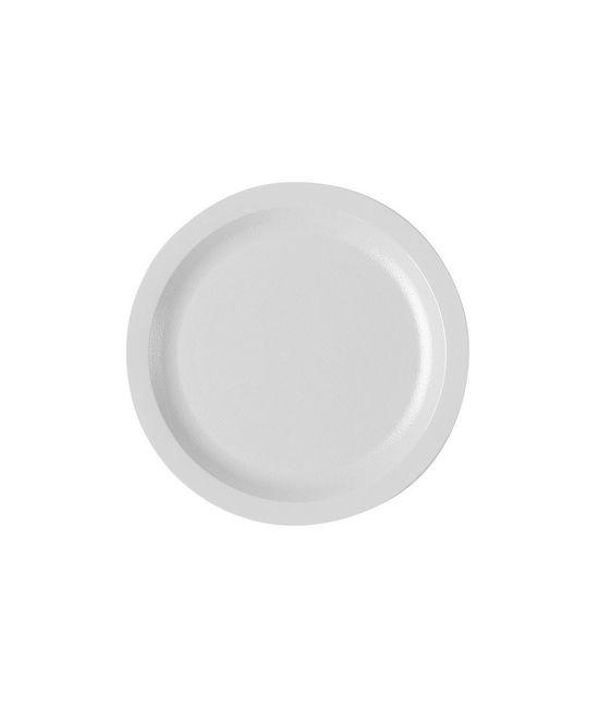 Narrow Rim Food Plate 7.25''