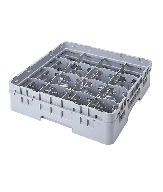 16 Compartment Washcrates with 1 Extender (3.5'')