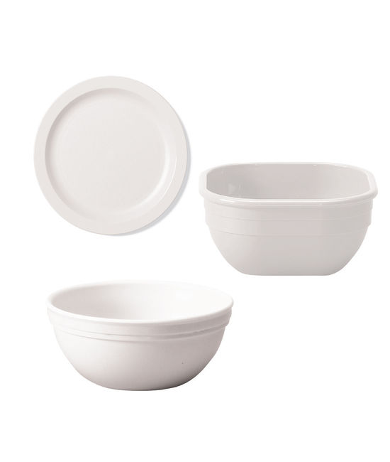 Narrow Rim Food Plate 10''