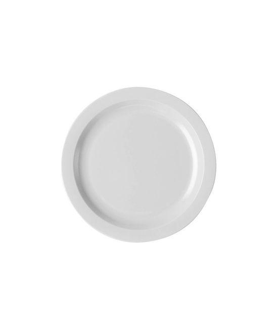 Narrow Rim Food Plate 10''