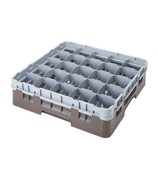 25 Compartment Washcrates with 1 Extender (4.5'')