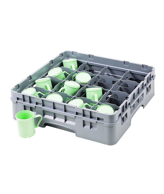 16 Compartment Washcrates for Full Cups