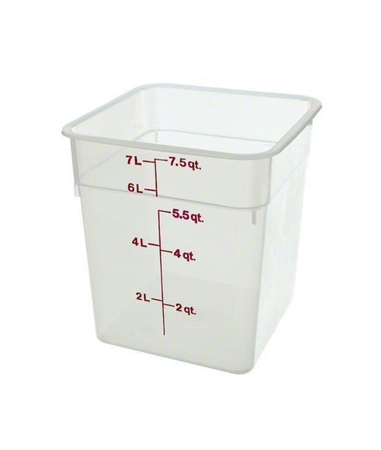 Food Container 7.6 Litre Translucent