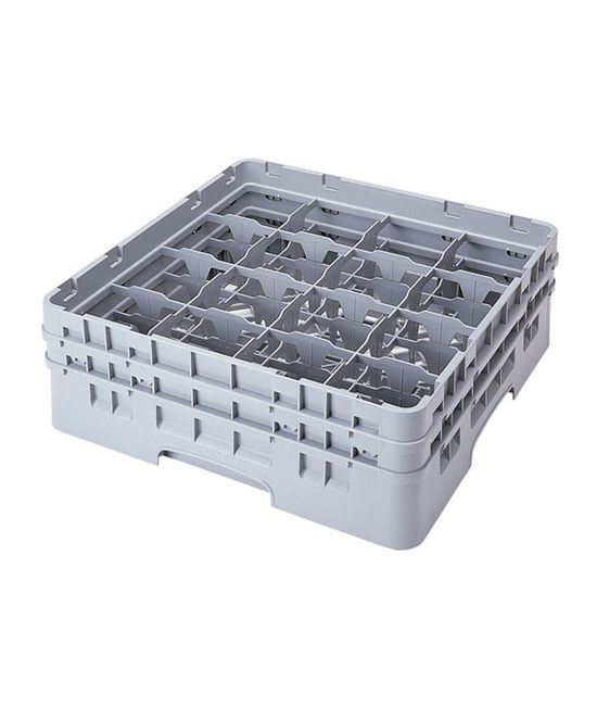 16 Compartment Washcrates with 2 Extender (5.2'')