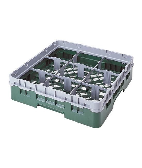 9 Compartment Washcrates with 1 Extender