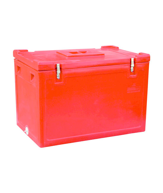 250 Litre Ice Box (With Drainhole Cap & Vending Lid), 250, with drainhole cap & vending lid