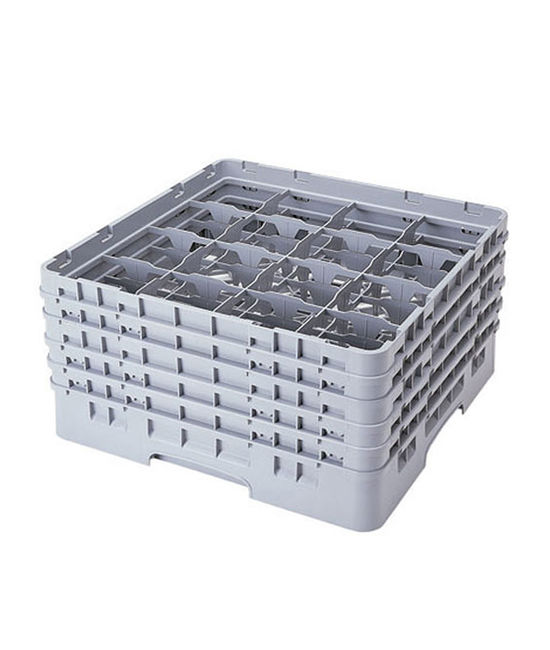 16 Compartment Washcrates with 5 Extender (11'')