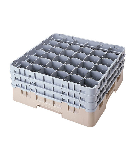 36 Compartment Washcrates with 3 Extender (7.7'')