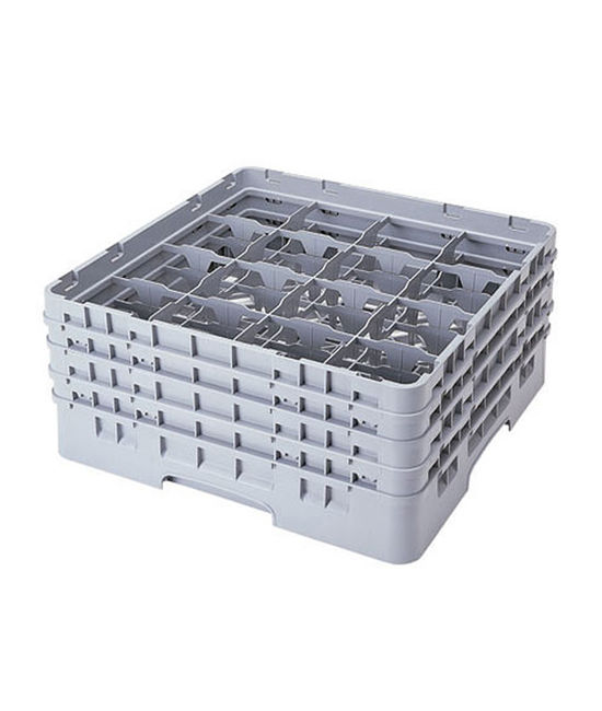 16 Compartment Washcrates with 4 Extender (9.3'')