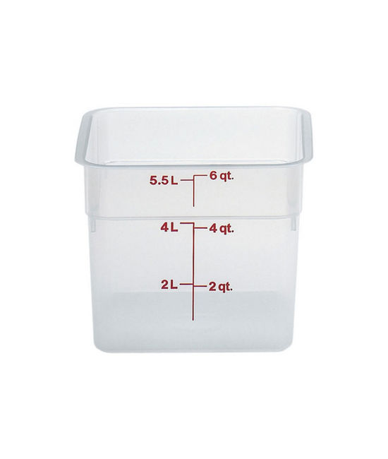 Food Container 5.7 Litre Translucent