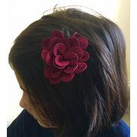 Kids Hairclip in flower design-KC045
